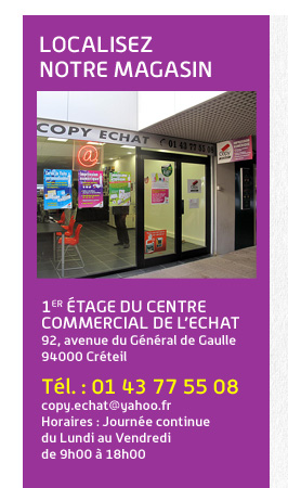 localisez notre magasin